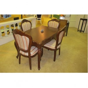 Dinning Table + 4 Dinning Chairs