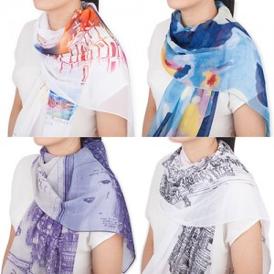 Lovely Silk Scarves