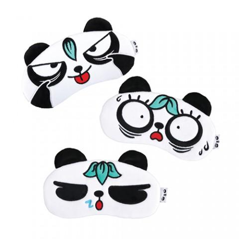 梳打熊猫眼罩