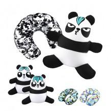 梳打熊貓頸枕