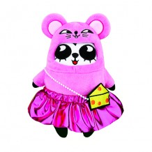 限量版梳打熊貓角色扮演 十二生肖系列公仔( 芝芝鼠遊瑞士)