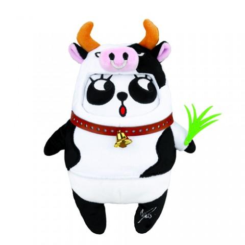 限量版梳打熊貓角色扮演 十二生肖系列公仔(牛郎遊荷蘭)