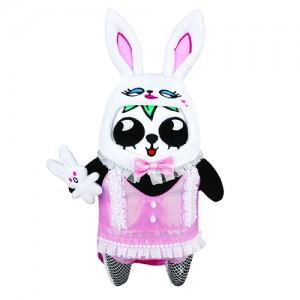 限量版梳打熊猫角色扮演 十二生肖系列公仔(兔女郎游法国)