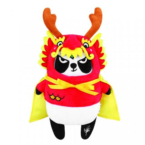 限量版梳打熊貓角色扮演 十二生肖系列公仔(龍太子遊中國)