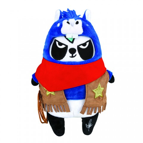 Around the World - Soda Panda Zodiacs Plush Doll The American Hee-Horse