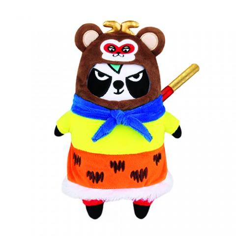 限量版梳打熊猫角色扮演 十二生肖系列公仔(美猴王游中国)