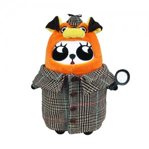 Around the World - Soda Panda Zodiacs Plush Doll The English Holmes Hound