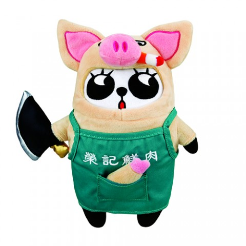 限量版梳打熊貓角色扮演 十二生肖系列公仔(豬肉榮遊德國)