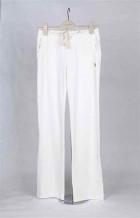 White Gym Pant