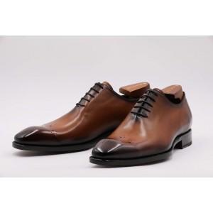 男士皮鞋(棕色)