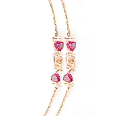 18KRG Ruby Bracelet