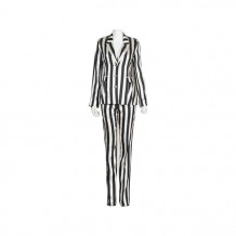 Black and White Stripe Set