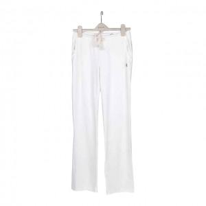 白色运动长裤