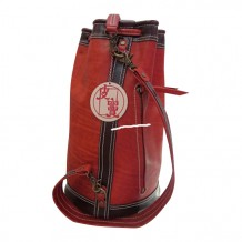 Leather Drawstring Bag