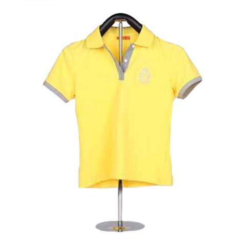 黄色女装Polo 衫