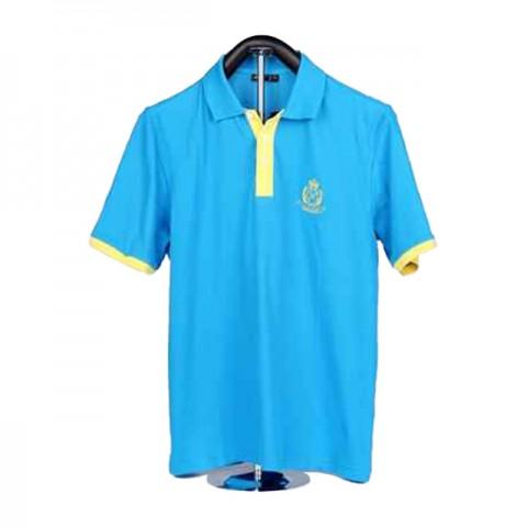 男装蓝色POLO 衫
