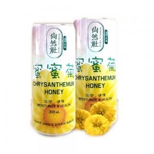 Canned chrysanthemum honey beverage