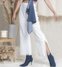 Lace Splice Pants