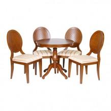 Mesa de jantar e 4 cadeiras