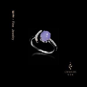 轻奢系列·轻奢紫罗兰戒指