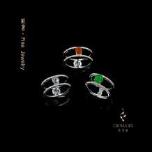 """Série Toque de Luxo - Anel """"Protecção e Fortuna Feng Shui"""""""
