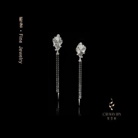 Fine Jewellery Series – Icy jadeite earrings