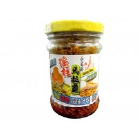 Viera de Myanmar Belachan (Pasta de Vieira seca picante)