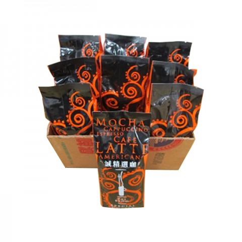A Companhia de Café Tai Seng importa grãos de café de qualidade seleccionada e de diferentes países de origem.