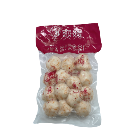 Cuttlefish balls with crab roe