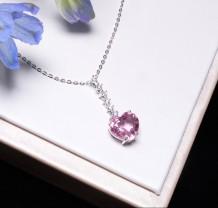Série Espinela - Colar de Espinela e Diamantes