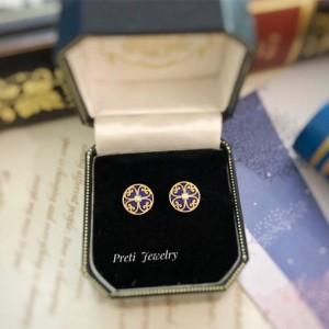 Macao Impression - 18K gold, lapis lazuli, diamond
