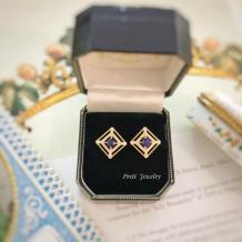 Ideia de Macau - Ouro de 18 quilates, safira, diamante