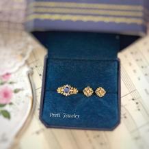 花神 - 18K金、蓝宝石、钻石