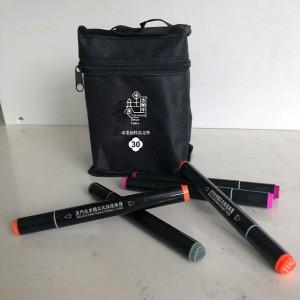 30-colour professional oil-based marker set