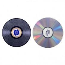 Record-shaped ceramic heat insulatioin pad, CD-shaped ceramic heat insulatioin pad