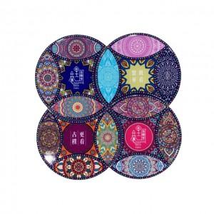 Portuguese-style ceramic coaster