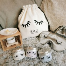Série de velas aromáticas de folhas de chá japonesas