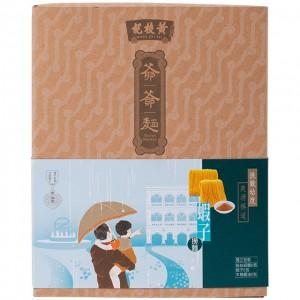 爷爷面-虾子捞面(一盒8个)