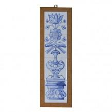 手绘瓷砖长壁画 - 八瓣花