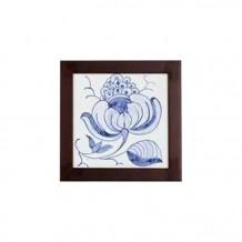 手绘瓷砖方壁画(小) - 有种子花