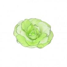 包裝絲帶 (綠色絲帶, 綠色金粉包邊)