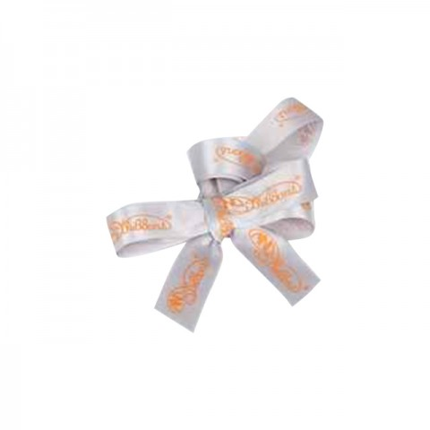 Ribbon Accessories (Gray Ribbon with Silver Color of the Company Logo)