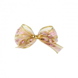 Ribbon Accessories (Purple & Gold Ribbon)
