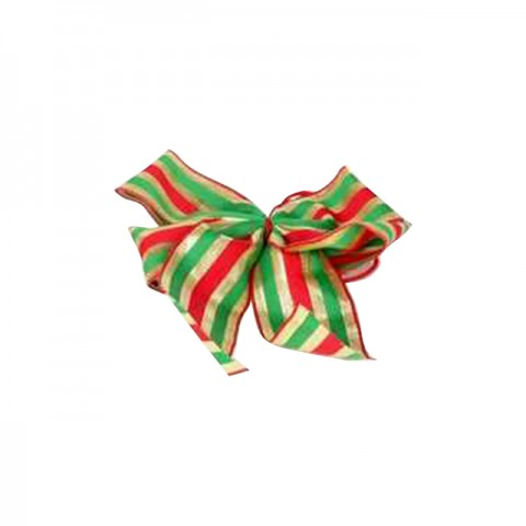 Ribbon Accessories (Red, Green & Gold Ribbon)
